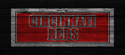 Cincinnati Reds Art Print by Joe Hamilton