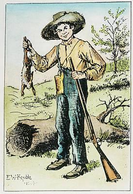 Clemens Huck Finn Art Print by Granger