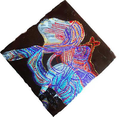 Dinka Lady - South Sudan Art Print by Gloria Ssali