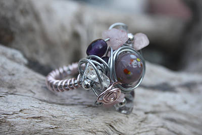 Jewelry - 21 Free Style Ring by Kathy Peltomaa Lewis