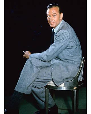 Gary Photograph - Gary Cooper by Silver Screen