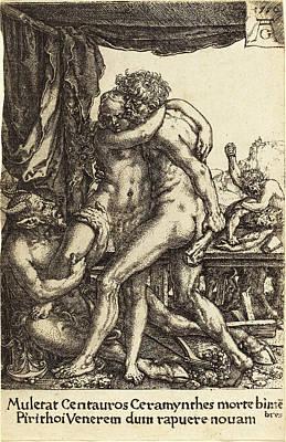 Heinrich Aldegrever German, 1502 - 1555-1561 Art Print
