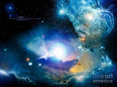 Hubble Art Print