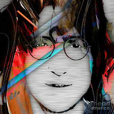 Pop Art Mixed Media - John Lennon Collection by Marvin Blaine