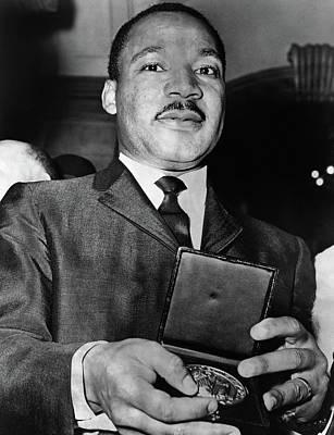 Martin Luther King, Jr Art Print