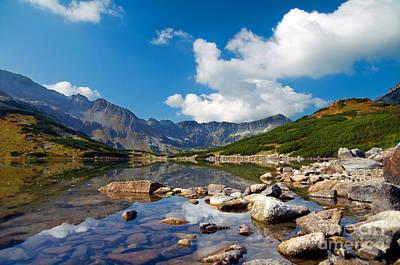 Photograph - Mountains Landscape by Michal Bednarek