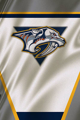 Nashville Photograph - Nashville Predators by Joe Hamilton