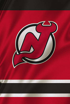 Galaxies Photograph - New Jersey Devils by Joe Hamilton