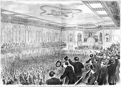 Presidential Campaign, 1860 Art Print by Granger