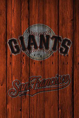 San Francisco Giants Art Print by Joe Hamilton