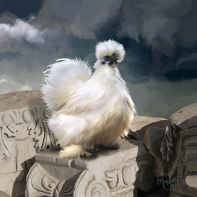 Digital Art - 21. Silkie Akropolis by Sigrid Van Dort