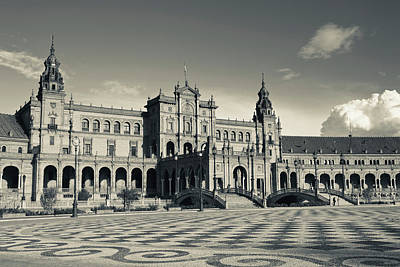 Espana Photograph - Spain, Andalucia Region, Seville by Walter Bibikow