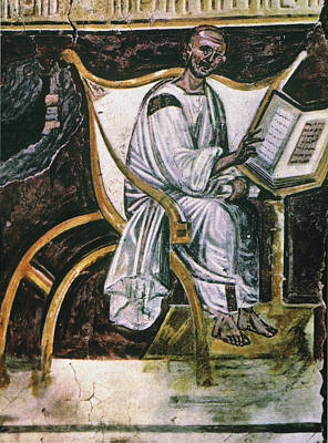 7th Century Painting - St by Granger