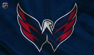 Hockey Photograph - Washington Capitals by Joe Hamilton