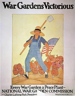 Painting - World War I U by Granger