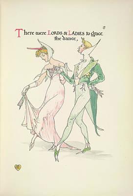 A Flower Wedding Art Print by British Library