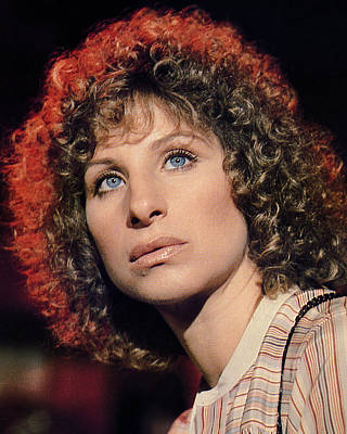 Photograph - Barbra Streisand by Silver Screen