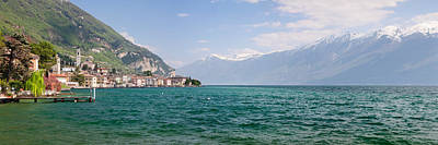Lake Garda Photograph - Buildings At The Waterfront by Panoramic Images