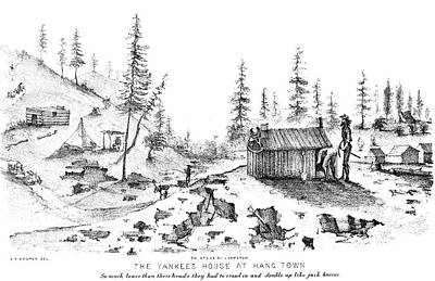 Forty Painting - California Gold Rush by Granger