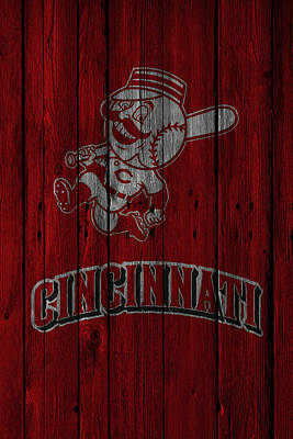 Photograph - Cincinnati Reds by Joe Hamilton
