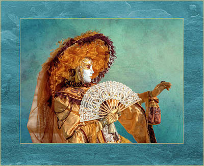 Manipulation Photograph - Elaborate Costume For Carnival Venice by Darrell Gulin