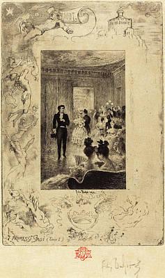 Félix-hilaire Buhot French, 1847 - 1898 Art Print by Quint Lox
