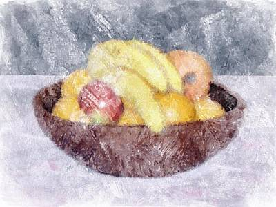 Painting - Fruit by Philip White