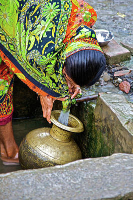Water Filter Photograph - India, West Bengal, Sunderbans National by Connie Bransilver