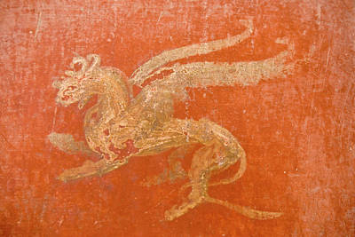 Ancient Roman Art Photograph - Italy, Campania, Pompeii by Jaynes Gallery
