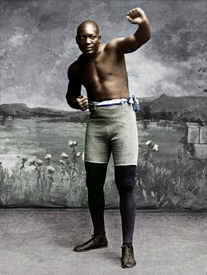Photograph - Jack Johnson (1878-1946) by Granger