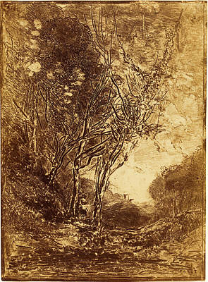 Jean-baptiste-camille Corot, French 1796-1875 Print by Litz Collection