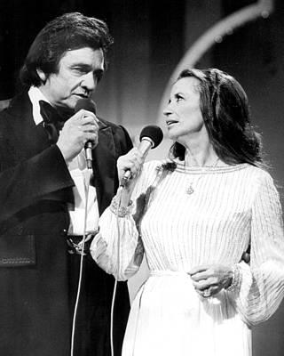 Johnny Cash Photograph - Johnny Cash by Retro Images Archive