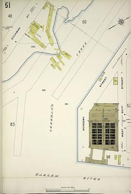 Harlem Drawing - Manhattan, V. 12 by Litz Collection
