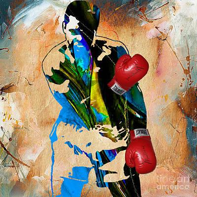 Muhammad Ali Art Print by Marvin Blaine
