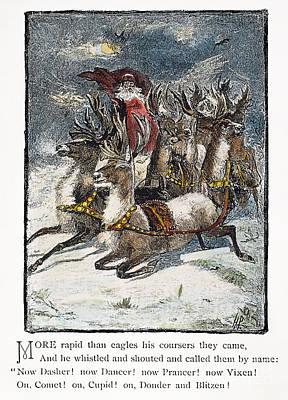 Night Before Christmas Print by Granger