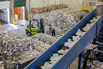 Waste Photograph - Recycling Plant by Jim West