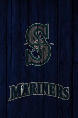 Mariner Photograph - Seattle Mariners by Joe Hamilton