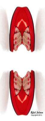 Digital Art - Shoe Love by Rafael Salazar
