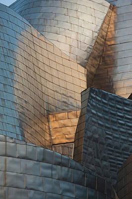 Frank Gehry Photograph - Spain, Basque Country Region, Vizcaya by Walter Bibikow