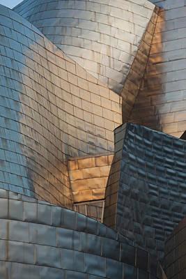 Guggenheim Photograph - Spain, Basque Country Region, Vizcaya by Walter Bibikow