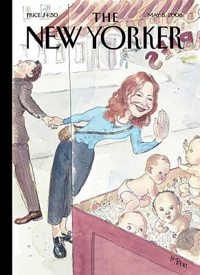 Painting - New Yorker May 5th, 2008 by Barry Blitt