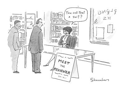 Consumerism Drawing - New Yorker June 13th, 2005 by Danny Shanahan