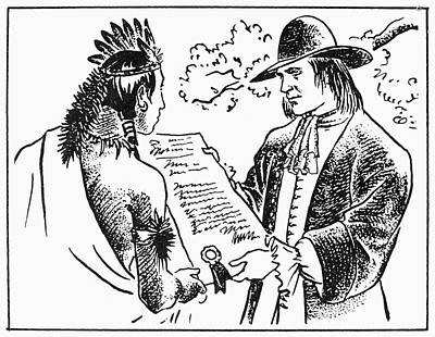 William Penn (1644-1718) Art Print
