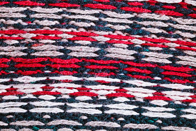 Crochet Thread Photograph - Wool Background by Tom Gowanlock
