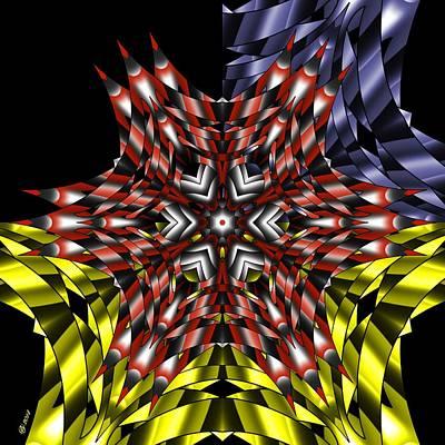 Digital Art - 2200 52 by Brian Johnson