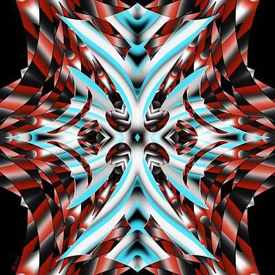 Digital Art - 2200 54 by Brian Johnson