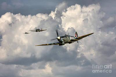 222 Squadron  Print by J Biggadike