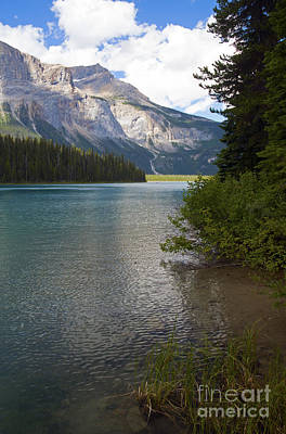 Photograph - 223p Emerald Lake by Cindy Murphy - NightVisions
