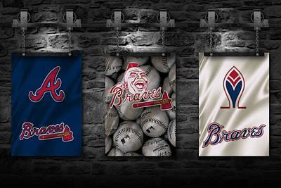 Photograph - Atlanta Braves by Joe Hamilton