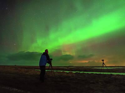 Tripod Photograph - Aurora Borealis by Babak Tafreshi
